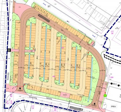 Parkplatz und B-Plan