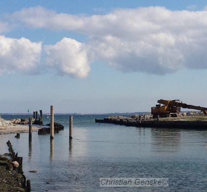 Leinen los im Hafen Lippe