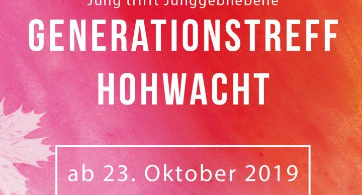 Hohwachter Generationentreff startet Ende Oktober!